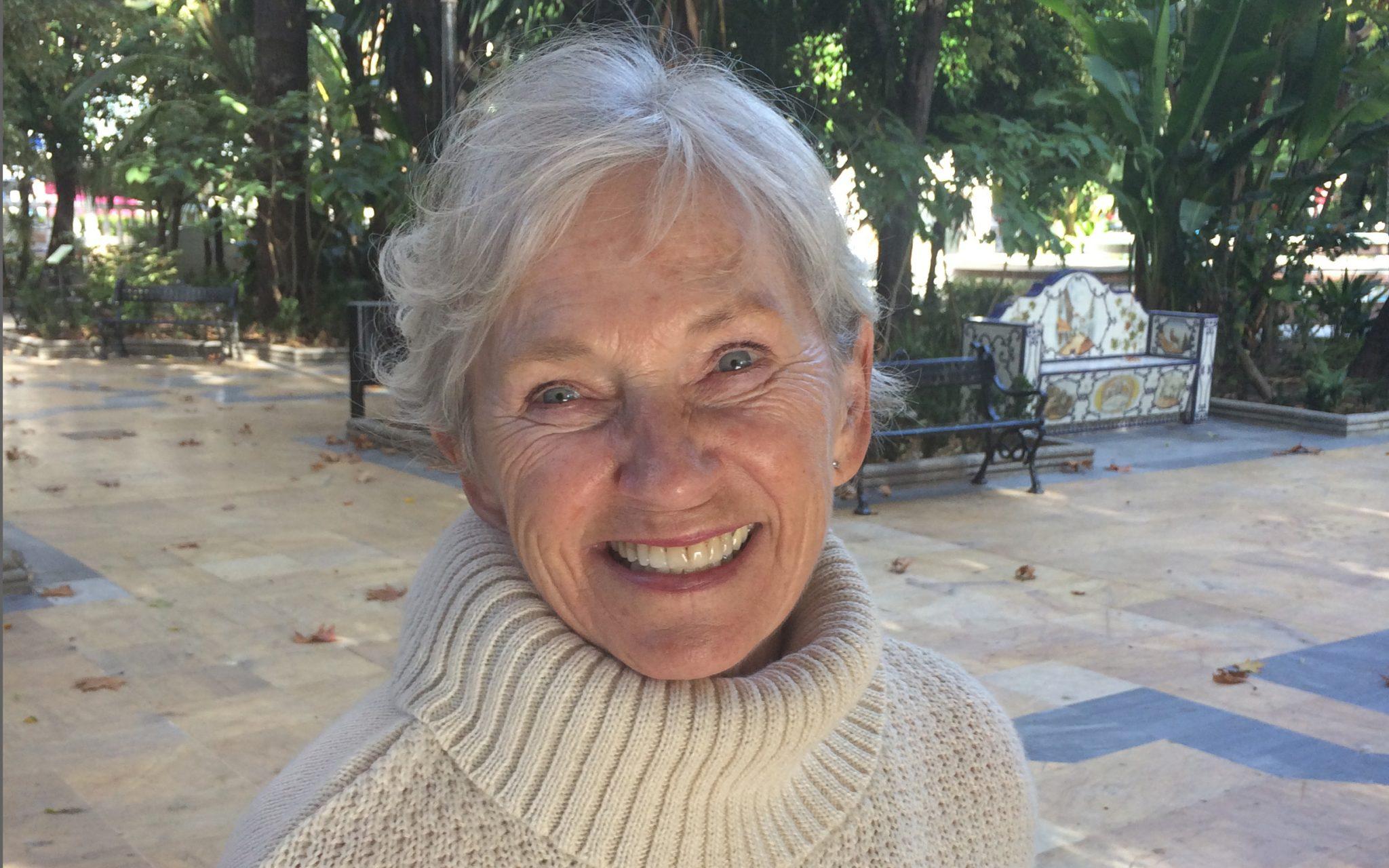 Sanna portrait smiling